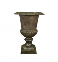 Medici iron cast iron vase - H - 66 cm