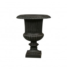 Cauldron - Vase Medicis cast iron - H:37 CM