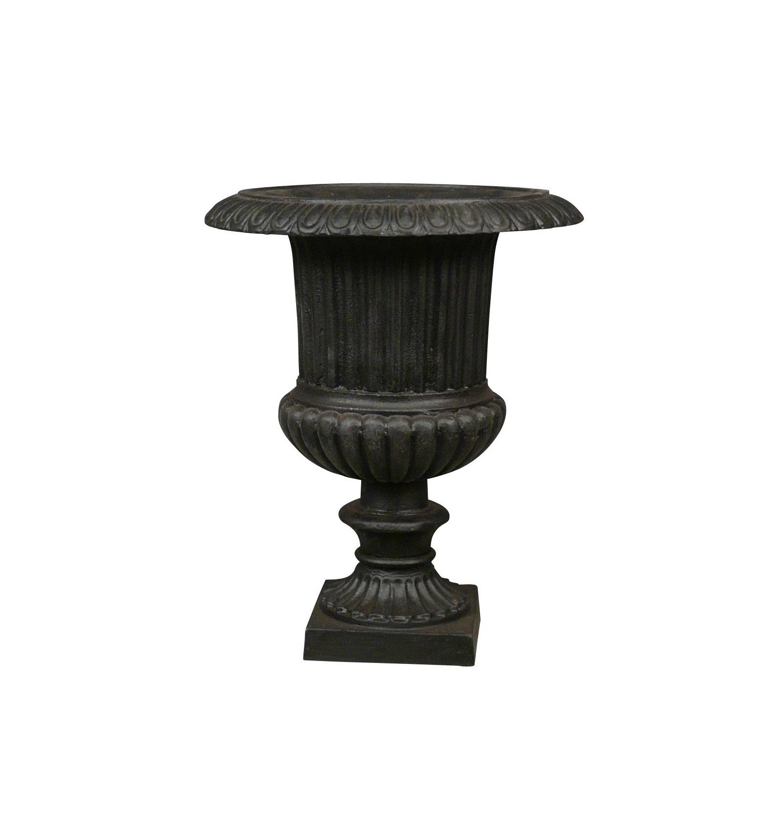 Vase fonte 42 cm - Vase medicis en fonte ...
