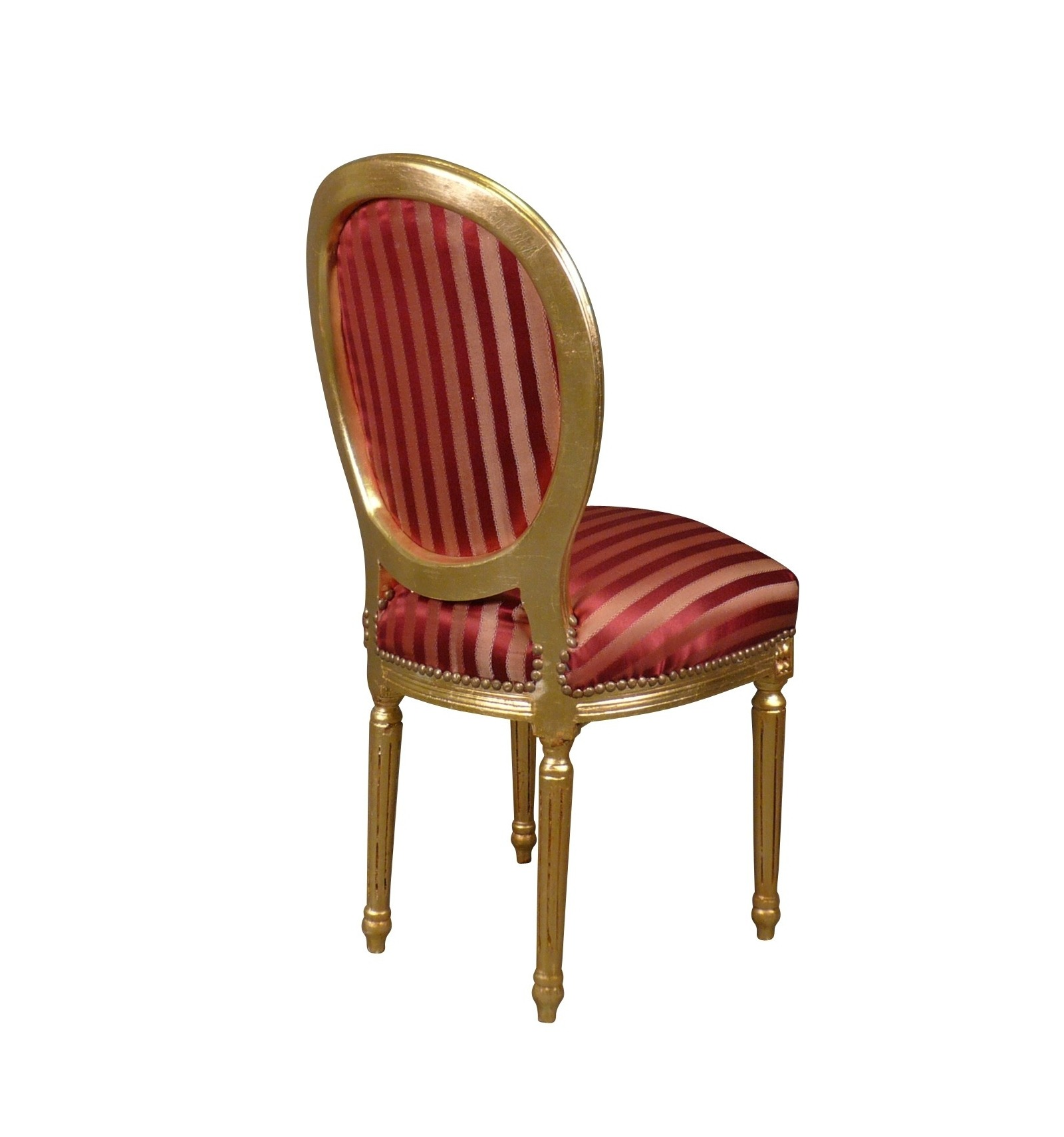 Chair baroque louis xvi style - Chaise baroque argentee ...