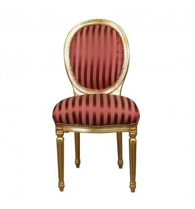 Silla barroca estilo Luis XVI