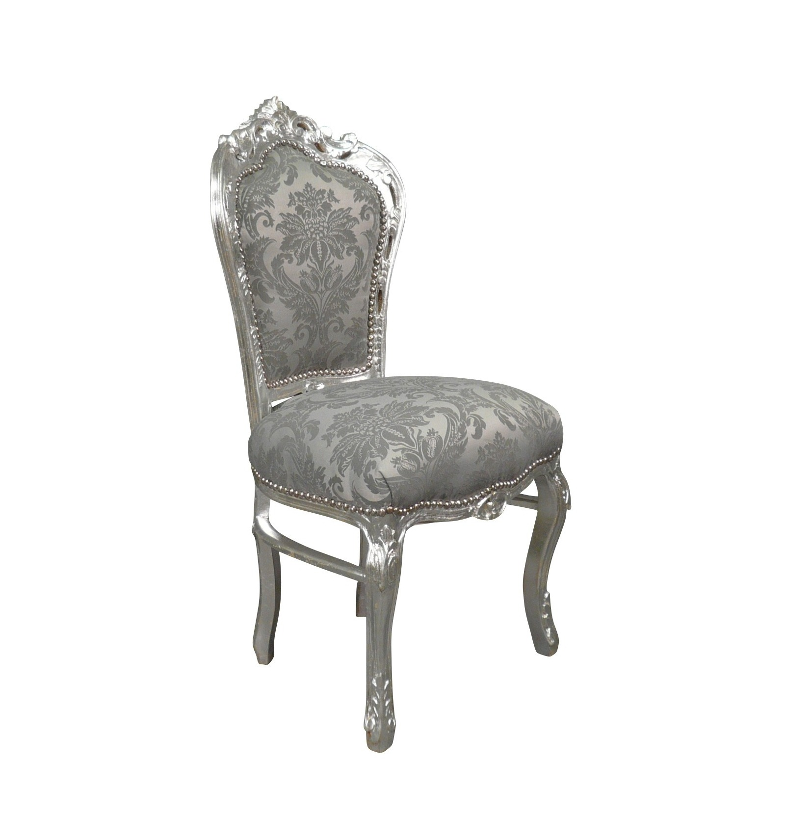 baroque chair grey fabric baroque chairs shop - Chaise Baroque