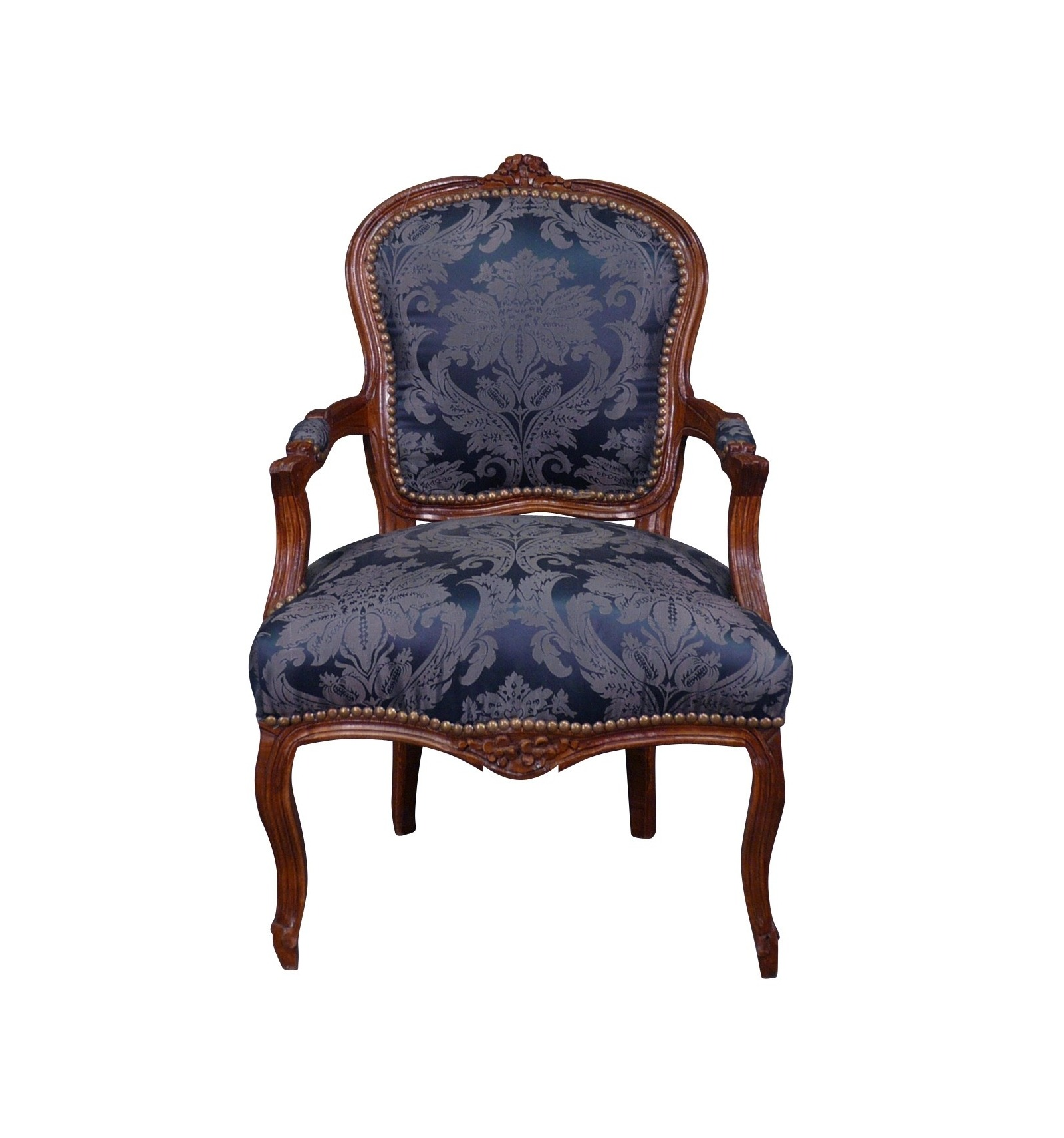 Louis XV armchair blue Furniture in the Louis XV style