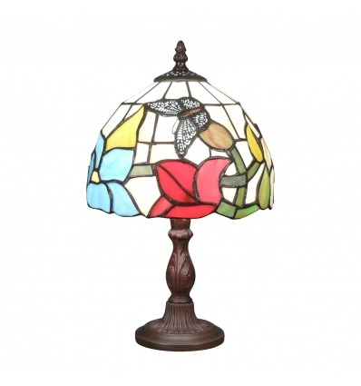 Lampada Tiffany con una farfalla - lampade Tiffany liberty