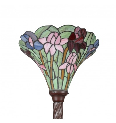 Tiffany's floor lamp-Art Nouveau luminaires-Tiffany lamp -