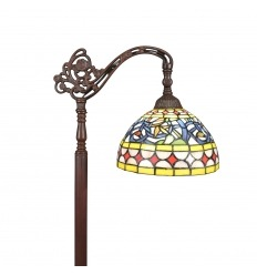 Tiffany hanging floor lamp