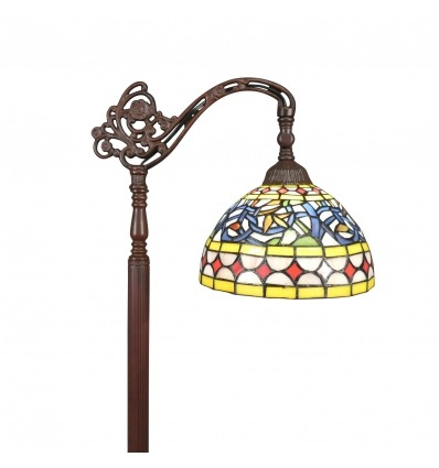Lampada da terra Tiffany