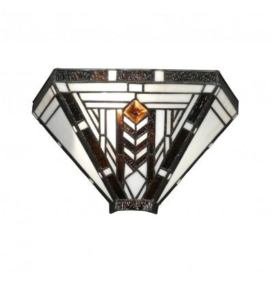 Tiffany Wandleuchte im Art Deco Stil