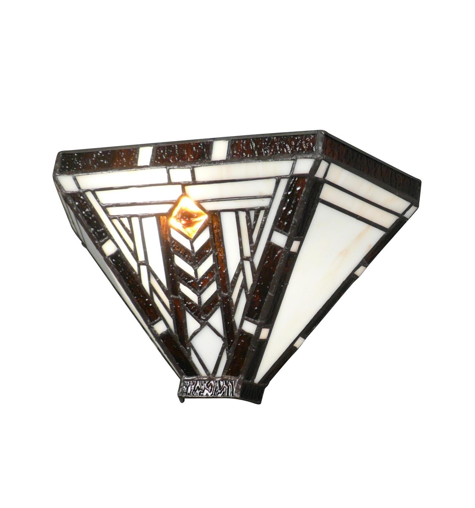 applique tiffany de style art d co luminaires des ann es. Black Bedroom Furniture Sets. Home Design Ideas