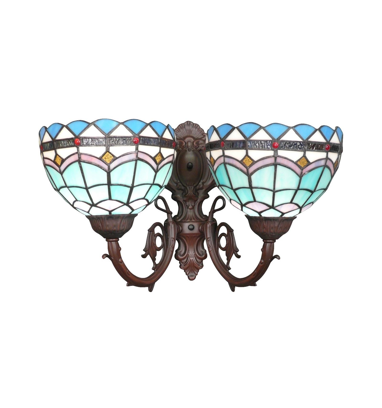 Tiffany аппликации средиземноморской коллекции тиффани светильники