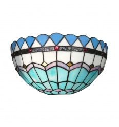 Tiffany wall light of Mediterranean series