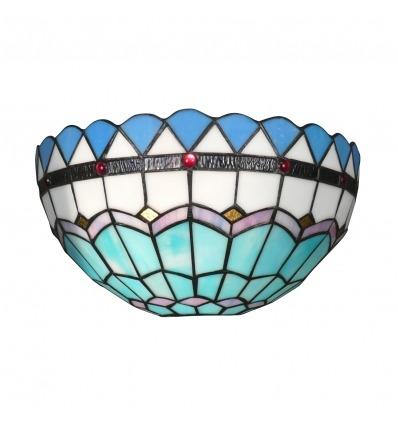 Apliques Tiffany do Mediterrâneo série-Tiffany luminária -