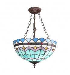 Chandelier Tiffany of the series Mediterranean