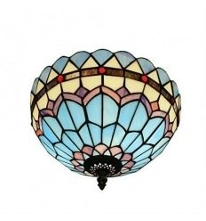 Ceiling light Tiffany blue
