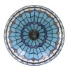 Lustres Tiffany bleu de la série Monaco
