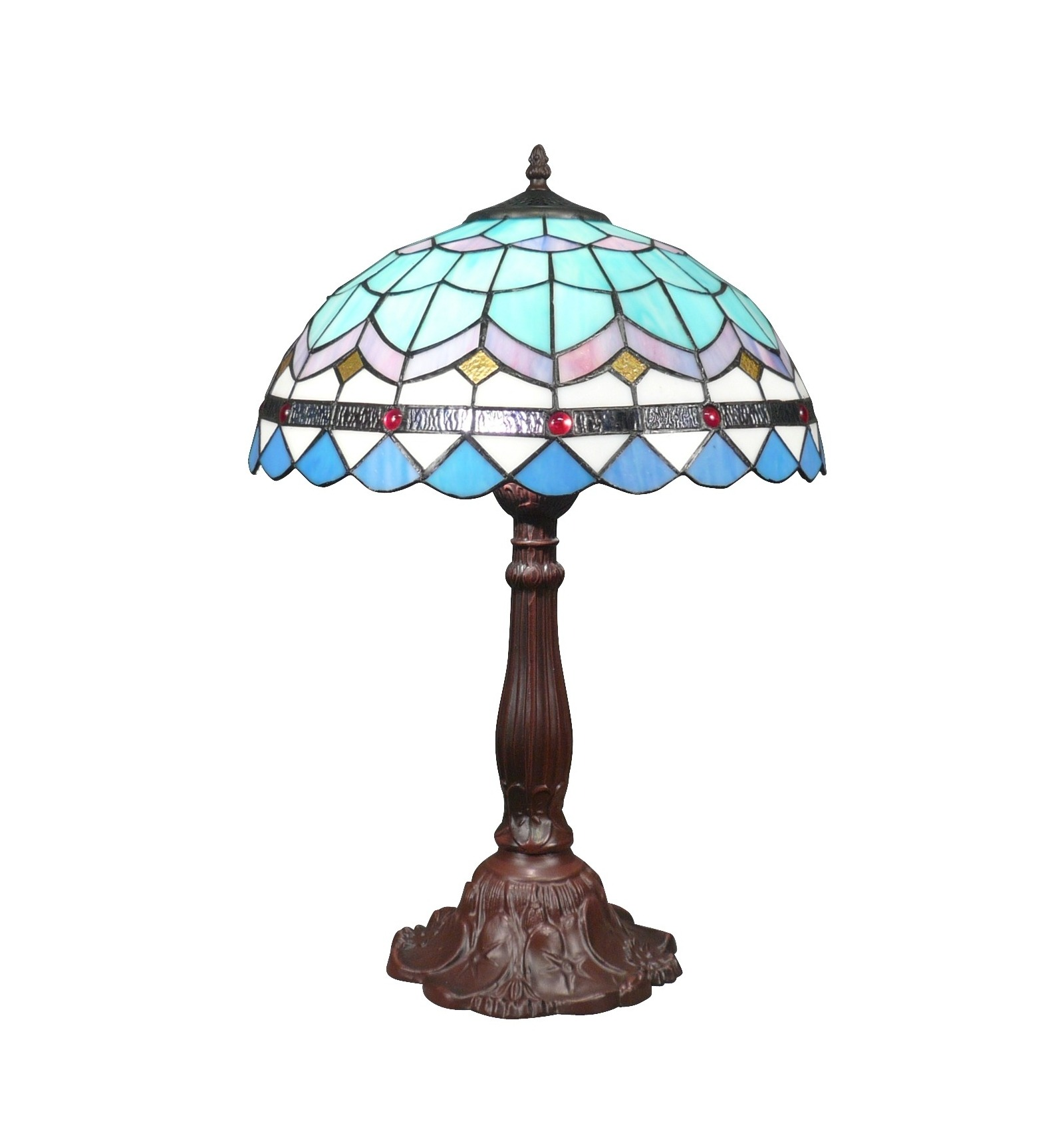 Picture of: Large Blue Tiffany Lamp