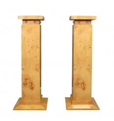 Art deco columns