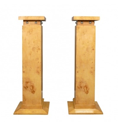 Art deco columns - pedestals and furniture decorations
