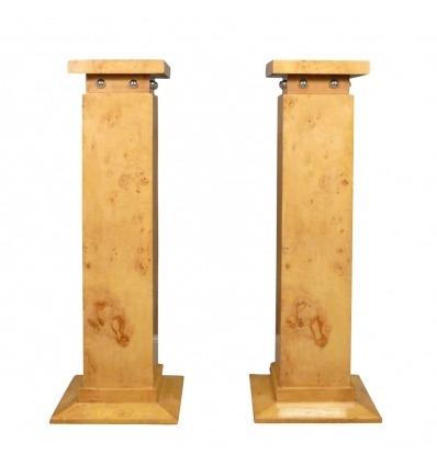 Art deco columnas - pedestales y decoraciones de muebles.