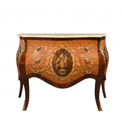 Louis XV style chest of drawers - Louis XV chest of drawers