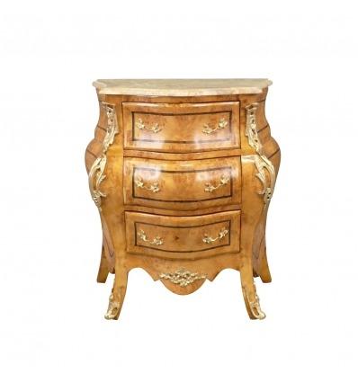Cajonera Luis XV - Muebles Luis XV para el dormitorio -