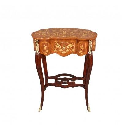 Piedistallo tavolo in stile Luigi XV - Piedistallo tavolo -