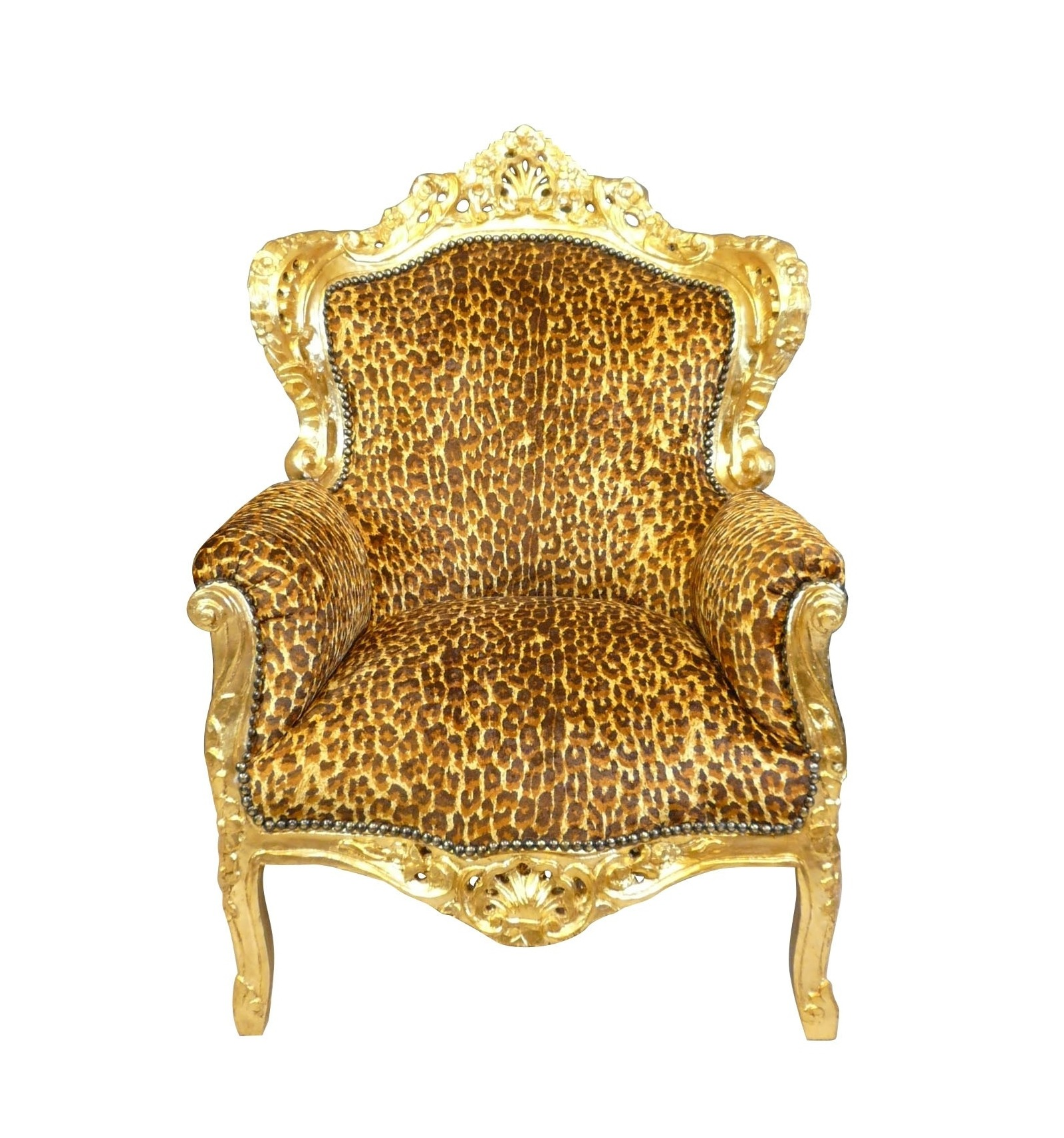 Baroque Leopard Armchair Table Dresser Chair And Style Furniture