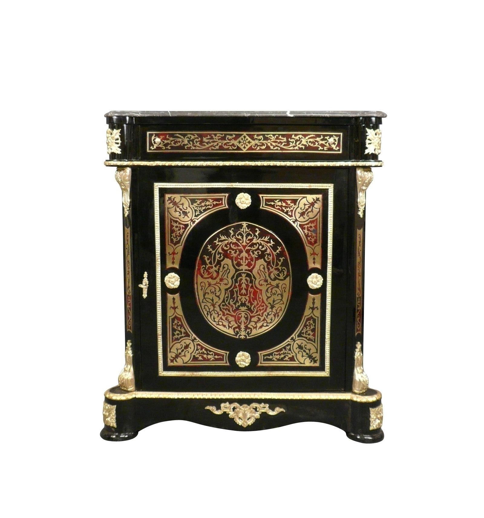 Meuble Ancien Style Henri 4 buffet empire boulle - meubles de style napoléon 3