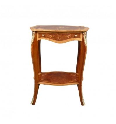 Louis XV pedestal table - pedestal -