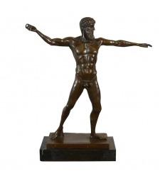 Statue en bronze Artémision