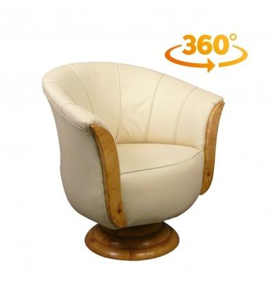 Chair art deco Tulip Rotary - Deco furniture -