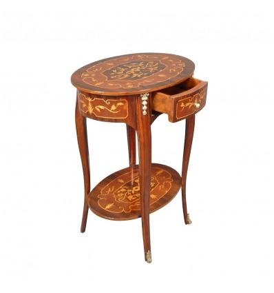 Guéridon Louis XV - Tables et Meubles de style Louis XV -