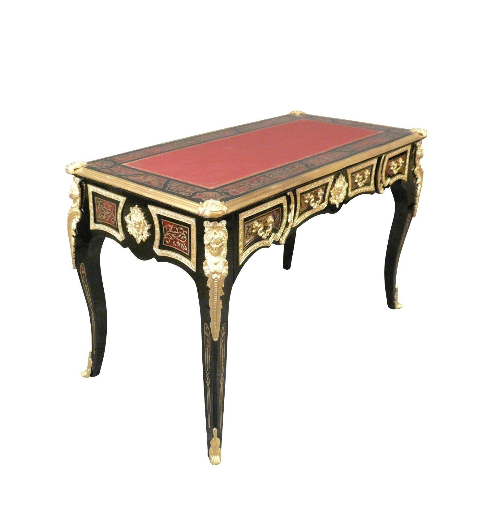 desk louis xv boulle. Black Bedroom Furniture Sets. Home Design Ideas