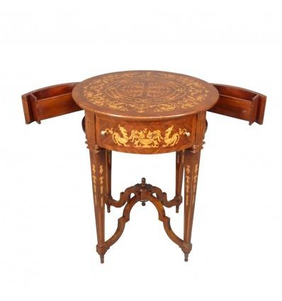 Pedestal Louis XVI-pedestal-Luis XVI muebles de estilo -