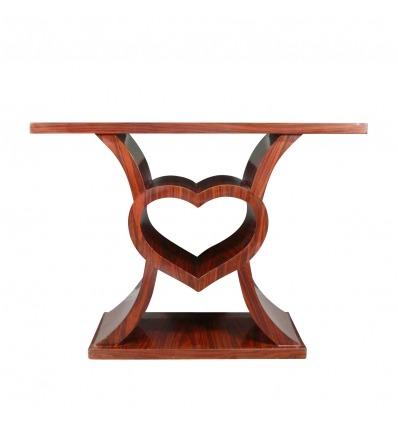 Herzförmige Art-Deco-Konsolen-Art-Deco-Möbel -