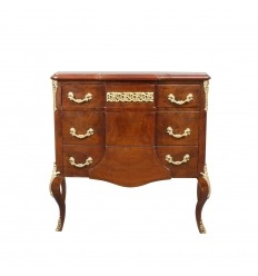 Commode sauteuse transition Louis XVI