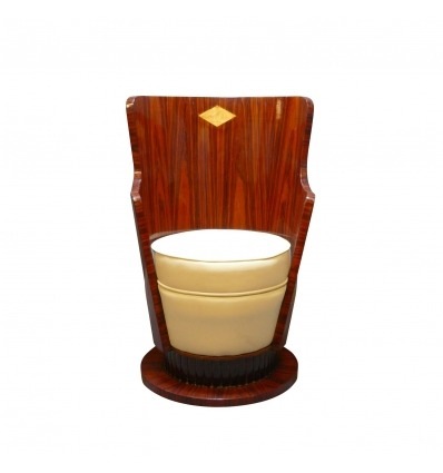 Puheenjohtaja art deco - art deco rosewood puiset huonekalut -