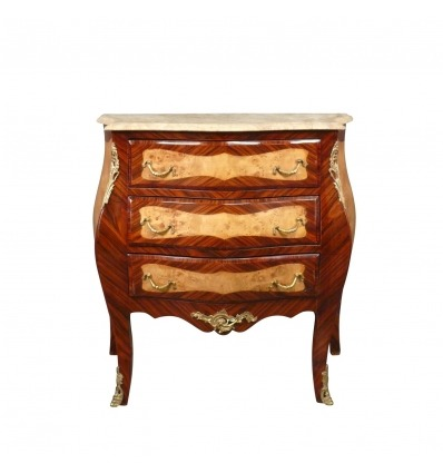 Commode Louis XV deux tons - Meubles Louis XV -