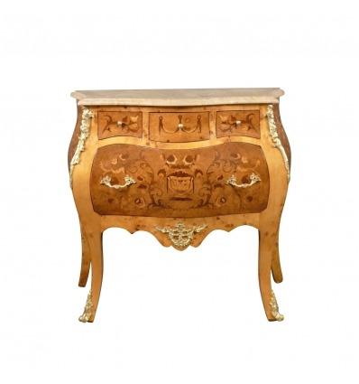 Commode Louis XV avec 4 tiroirs - Meuble Louis XV -
