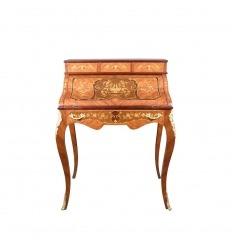 Secretary Louis XV style cylinder