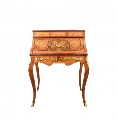 Secretario estilo Luis XV cilindro - Despacho -