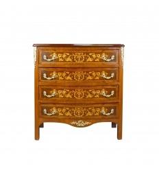 Luis XVI 4-cajón cómodo
