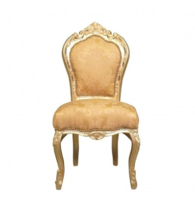 Golden baroque chair