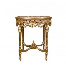 Piedistallo tavolo barocco