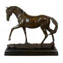 La Statua di bronzo del mare - di una Scultura di un cavallo -