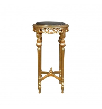 Baroque harness in gilded wood-Baroque tables
