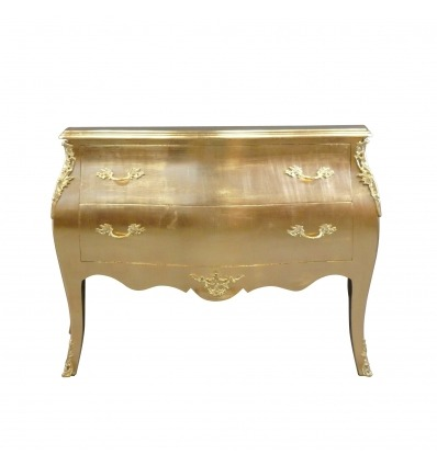 Baroque gold wooden Dresser