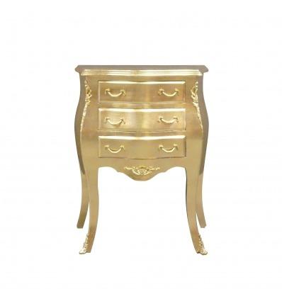 Kleine goldene Barock Kommode - Barock-Möbel