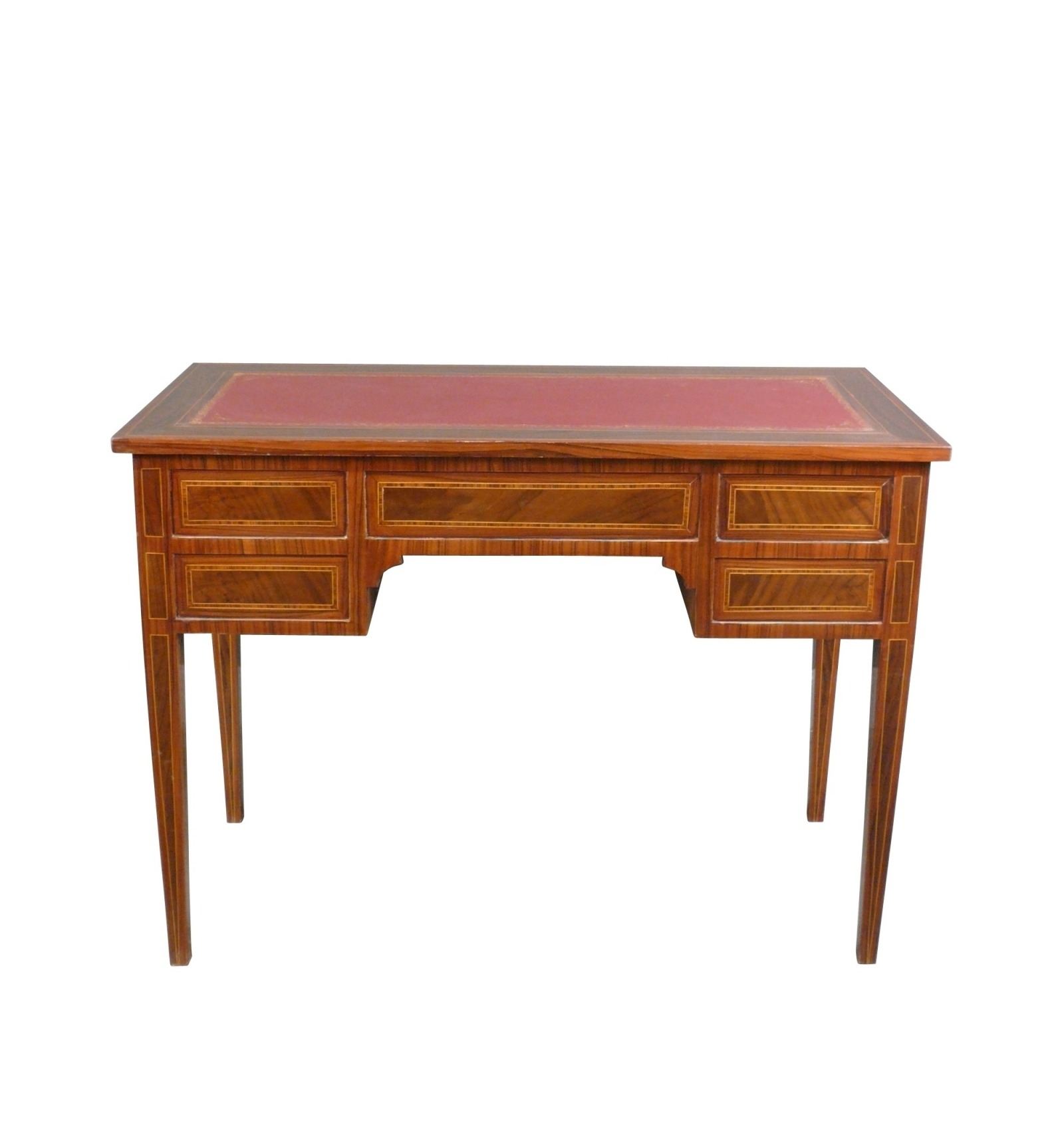 bureau of louis xvi in cherry wood. Black Bedroom Furniture Sets. Home Design Ideas