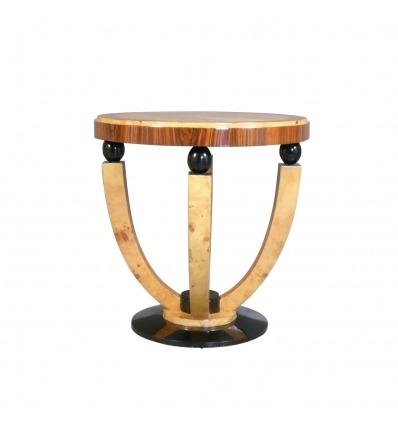 Stůl Deco - design nábytkem ze vzácného dřeva